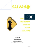Salvatia, E-shop Pera Suicidas