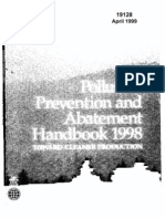 World Bank - Pollution Prevention and Abatement Handbook