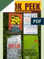 Book Peek-September 20, 2012