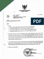 Surat Pemberitahuan Penahananan Tersangka - Miranda S Goeltom