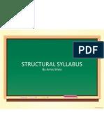 Structural Syllabus