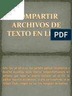 Como Subir Archivos de Texto en Linea - Copia