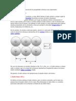 Aquí describiremos la variación de las propiedades atómicas mas importantes