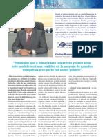 Entrevista Carlos Blanco - Seguritecnia - Abril 2012