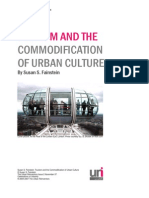 Fainstein 2007 Tourism and the Commodification of Urban Culture