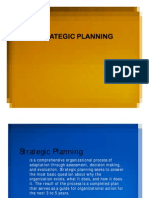 33. Strategic Planning