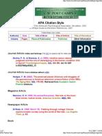 APA Citation Style