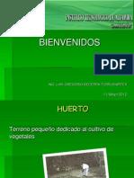 precentacion huertos 2011