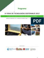 Programa Fetecso 2012