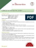 2011 ED Lingua Estrangeira