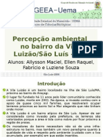 Percepcao Ambiental