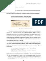 Nuno Ribeiro - Ensaio Sobre a Ideia de Causa [de Fernando Pessoa]