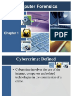 Computer Forensics Chapter 1 (Beiber)