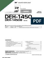 Manual de servicio PIONEER DEH-1450 C2756