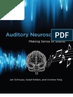 Auditory Neuroscience - Jan Schnupp
