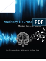 Auditory Neuroscience - Jan Schnupp