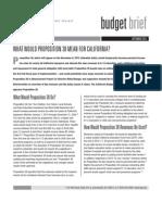 CBP 9/7/2012 Proposition 38 Budget Brief