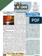 """2012-09-22 """"EL CONQUISTADOR"""" Boletín Semanal de La casa de Todos"""