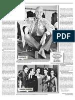 Gino Bogani Con Tete Coustarot en Semanario Democracia 3