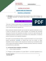 RECEPTORES DE FÁRMACOS