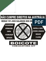 Domino's -  Não à redução dos salários