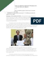 MINAG Firma Convenio Con Gobierno Regional de Moquegua Para Formular Planes de Negocios
