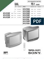 Tv. Sony Kv-21x5k Strf6654