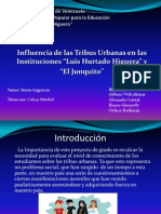 Influencia de Las Tribus Urbanas