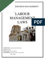 Labour Management Laws- Surabhi & Sapna
