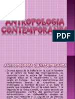 Tema 30 Antropologia Contemporanea