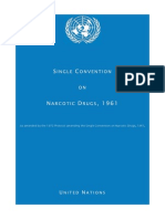 UN Single Convention Treaty on Narcotic Drugs 1961 En