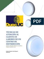 Tecnicas de Atención al Cliente en un CD