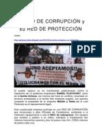 La RED DE CORRUPCIÓN y su RED DE PROTECCIÓN