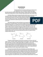 Karbohidrat - informasi dasar