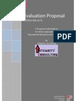 c  narayan evaluation proposal