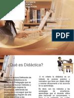 Concepto de Didáctica y Programación