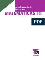 Ts Cur Reg Matematicas III