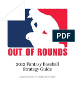 Out of Rounds 2012 Fantasy Baseball Strategy Guide