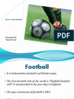 Presentation on Football