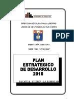 Plan Estarteigo de Desarrollo 2010 Primero