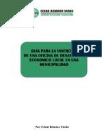 Guia Para Insercion de Una Oficina de Desarrollo Económico Local