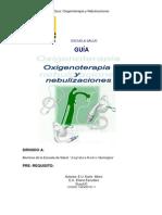 o2 y Nebulizaciones