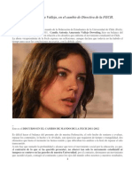 Discurso de Camila Vallejo en El Cambio de Directiva de La FECH