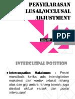 Penyelarasan Oklusal ICP
