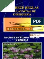 04 Trece Reglas de Las Notas d Enf