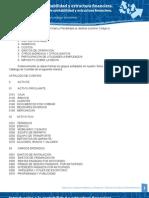 Catalogo de Cuentas Contabilidad