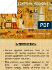 Ancient Egyptian Medicine Ppt Show