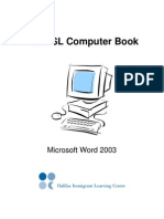 Word  Book 2003