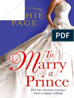 Sophie Page - To Marry a Prince