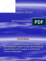 Obstetric Shock 21.11.08